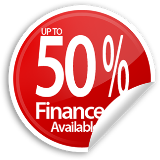 Up To 50% Finance Available